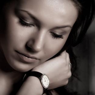 Beauty Close-Up von junger Frau
