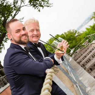 Homosexuelles Ehepaar in Hamburg