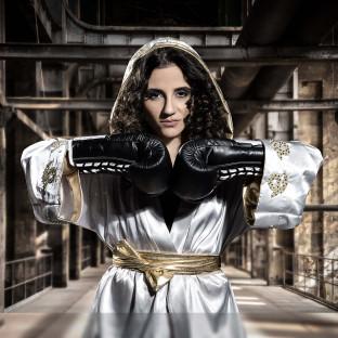 Susi Kentikian Boxweltmeisterin aus Hamburg
