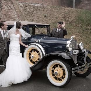 Ford Typ A Oldtimer - Hochzeitfoto