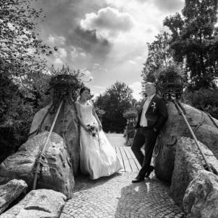 Hochzeitsfotos am Bergedorfer Schloß in Hamburg