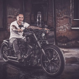 Bikerfoto Chris Reiner, Harleyshooting Hamburg