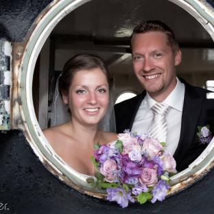 Hochzeitsfoto Leuchtturm Sylt