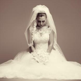 Stilvolles Hochzeitsportrait