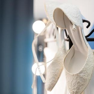 Brautschuhe Hochzeitsfotograf