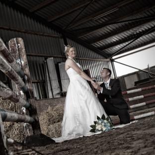 Hochzeitsfoto / Reitanlage Borsten-Hohenraden