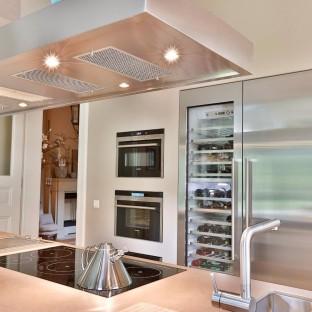 Perspektive Ansicht einer tollen Küche