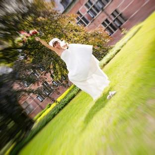 Springende Braut