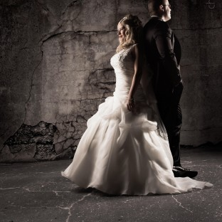 Spannendes Hochzeitsfoto