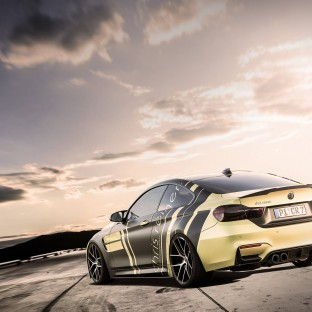 Chris Reiner Dienstwagen BMW G-Power M4