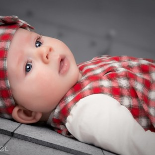 Babyfoto Mädchen / Aufnahmeort: Fotostudio