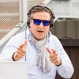DJ bei Business-Event