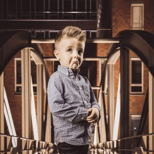 Kinderfoto im Fotostudio von Chris Reiner