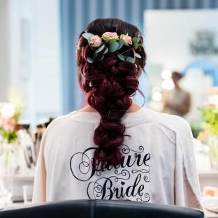 Haarschmuck von Braut