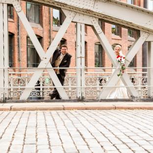 Speicherstadt Hochzeitsfoto