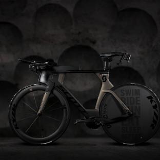 TT-Rad, Zeitfahrrad Scott Plasma Premium 2019 - professionelles Wettkampfrad von Triathlet Chris Reiner