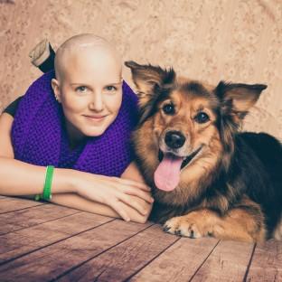 Krebserkrankung Fotoshootings mit Hund