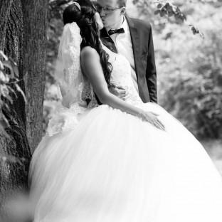 Hochzeitsreportage im Wald
