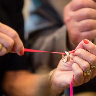 Ring am Band Hochzeit