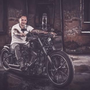 Bikerfoto Chris Reiner, Harleyshooting Hamburg