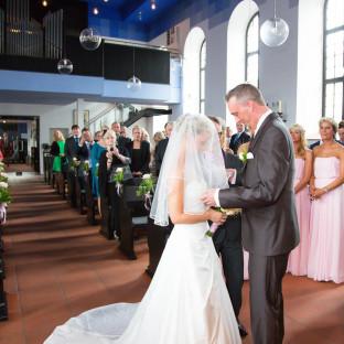 Hochzeitsreportage in Kirche Hamburg
