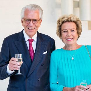 Ehepaar auf goldener Hochzeit