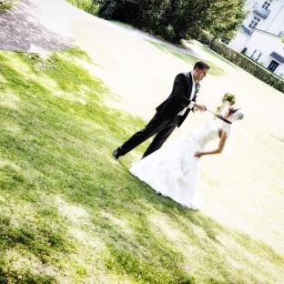 provokantes Hochzeitsfoto