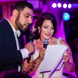 Mehrzad Marashi auf Hochzeitsfeier in Hamburg