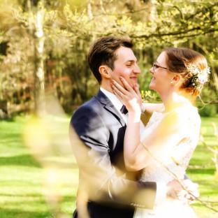Verliebtes Brautpaar in Quickborn