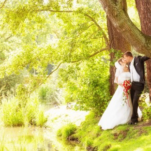 Romantisches & traumhaftes Hochzeitsfoto von Chris Reiner