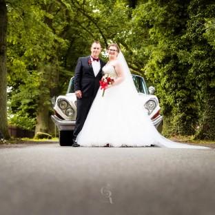 Professionelles Hochzeitsfoto an der Wulfsmühle Tangstedt