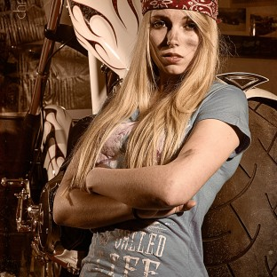 Cooles Portraitshooting bei AMS Choppers