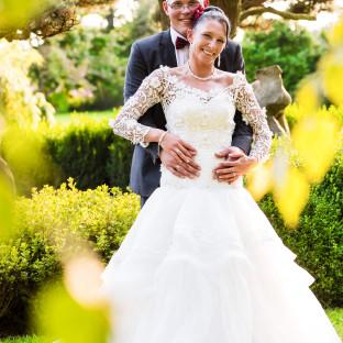 Brautpaar im Arboretum