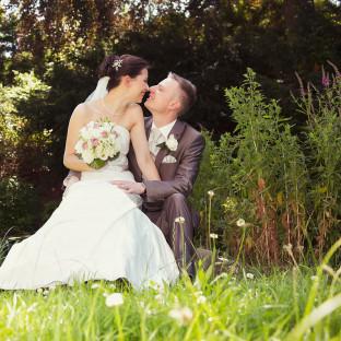 Frisch verheiratet in Hamburg