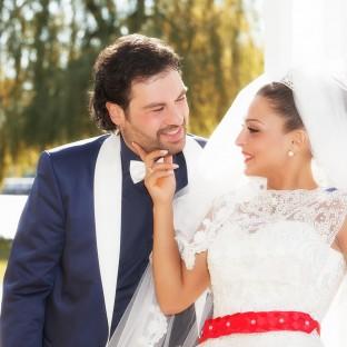 Hochzeit im Rosarium Uetersen