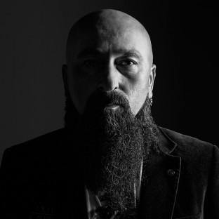 Rockmusiker Männerportrait