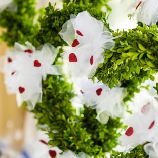 Blumen bei Hochzeit