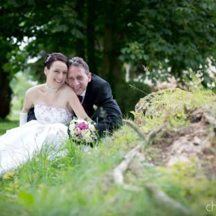 Hochzeitsfoto / Schloß Wedendorf