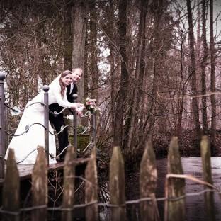 Hochzeitsfoto am See in Quickborn