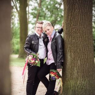 Homosexuelle Hochzeit in Hamburg