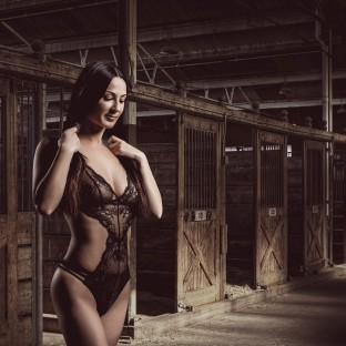 Sexy Aktfoto in Dessous