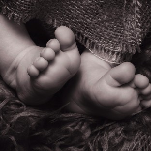Babyfüsse Fotostudio