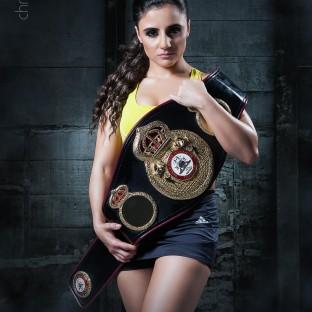Susi Kentikian Boxweltmeisterin