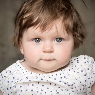 Süßes Babyfoto aus Hamburg