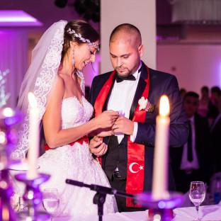 Hochzeitsreportage im Saal