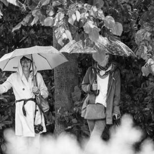 Hochzeitssshooting im Regen