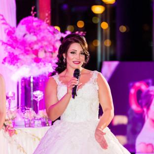 Braut am singen