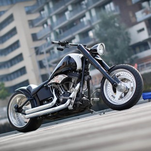 Fotoshooting Harley-Davidson Chopper