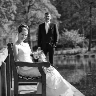 Hochzeitsfoto / Schloß Reinbek