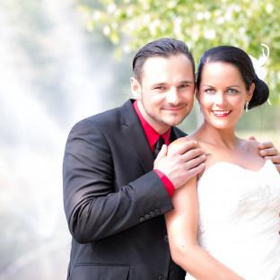 Tolles Hochzeitsfoto am See